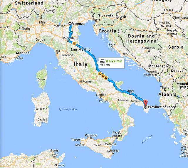 Gata se empacota e cruza toda a Itália dentro de uma caixa de papelão 2