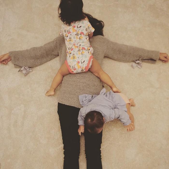 Cuidar das crianças pode ser muito cansativo, mas também engraçado 19