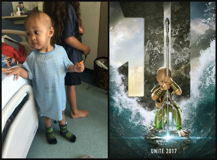 Crianças com necessidades especiais vestidas de super heróis 2