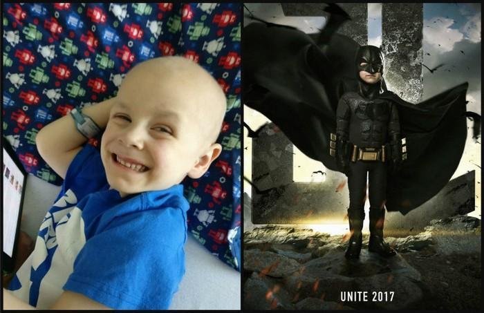 Crianças com necessidades especiais vestidas de super heróis 3
