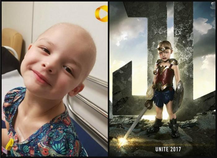 Crianças com necessidades especiais vestidas de super heróis 4