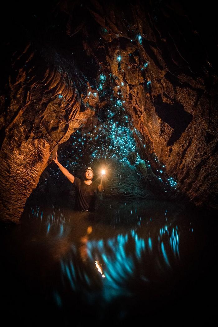 Cavernas mágicas da Nova Zelândia (1)
