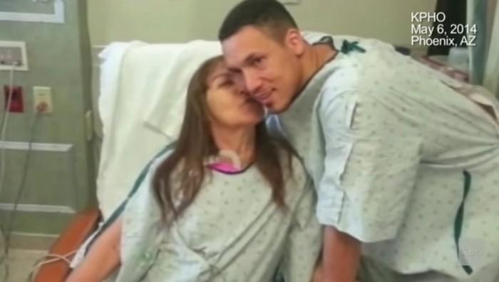 Filho adotivo doa rim à mãe (1)