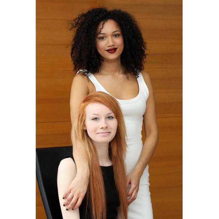 Gêmeas de aparência étnica totalmente diferente (8)
