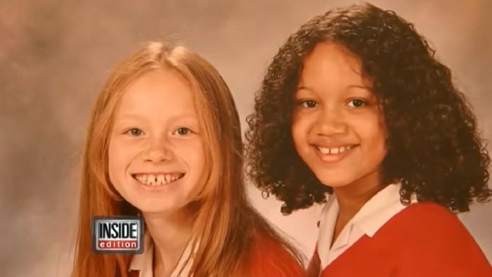 Gêmeas de aparência étnica totalmente diferente (2)