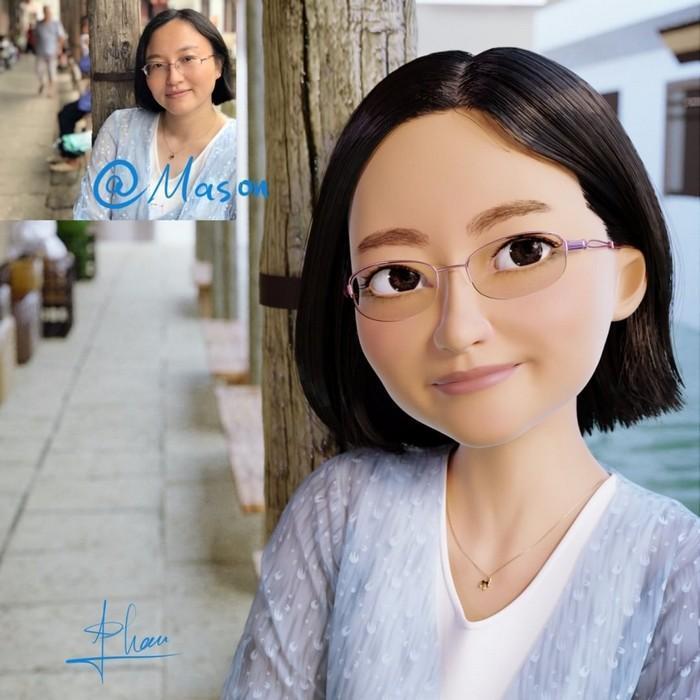 artista transforma pessoas em personagem 3D (13)