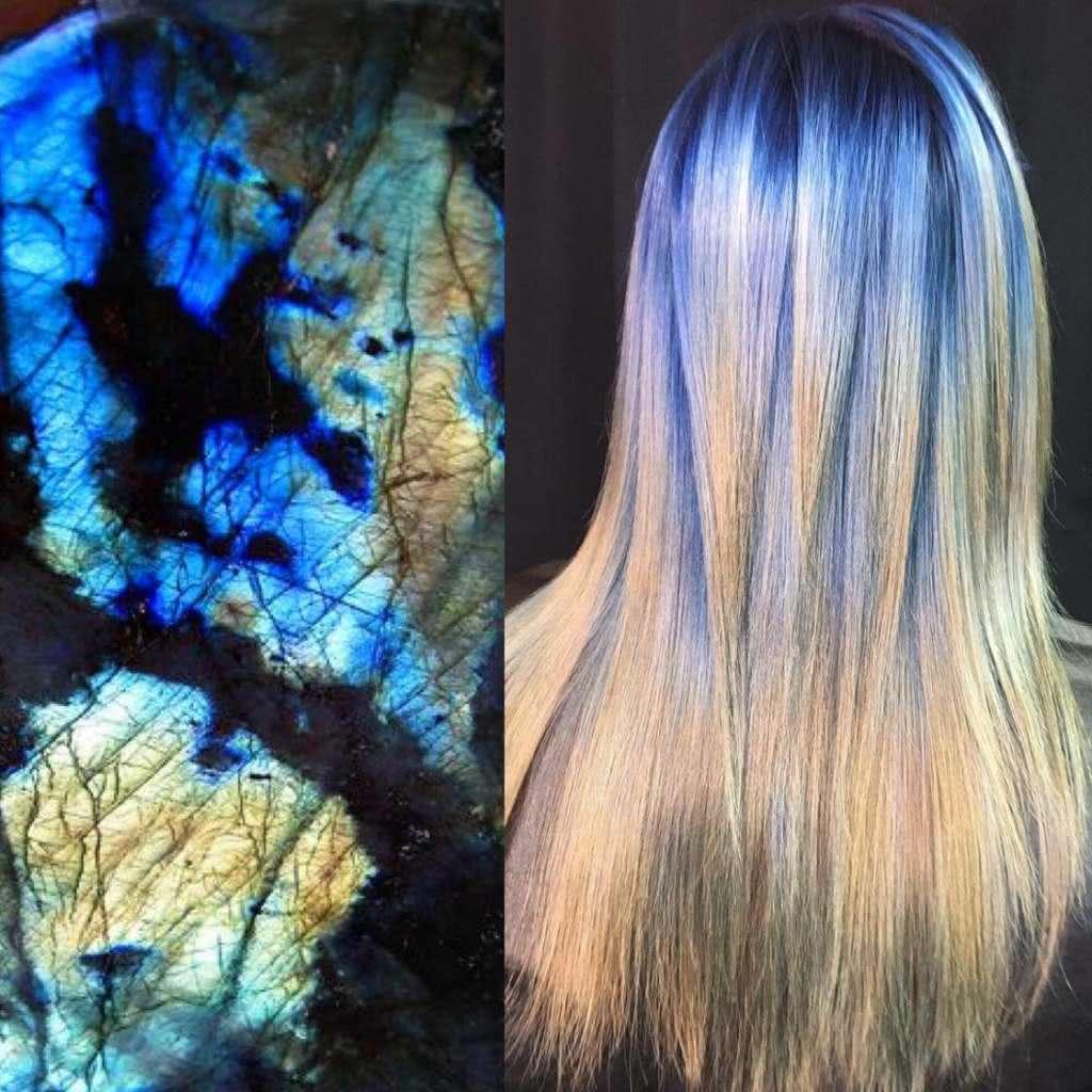Artista se inspira em imagens fantásticas para mudar a cor do cabelo 1