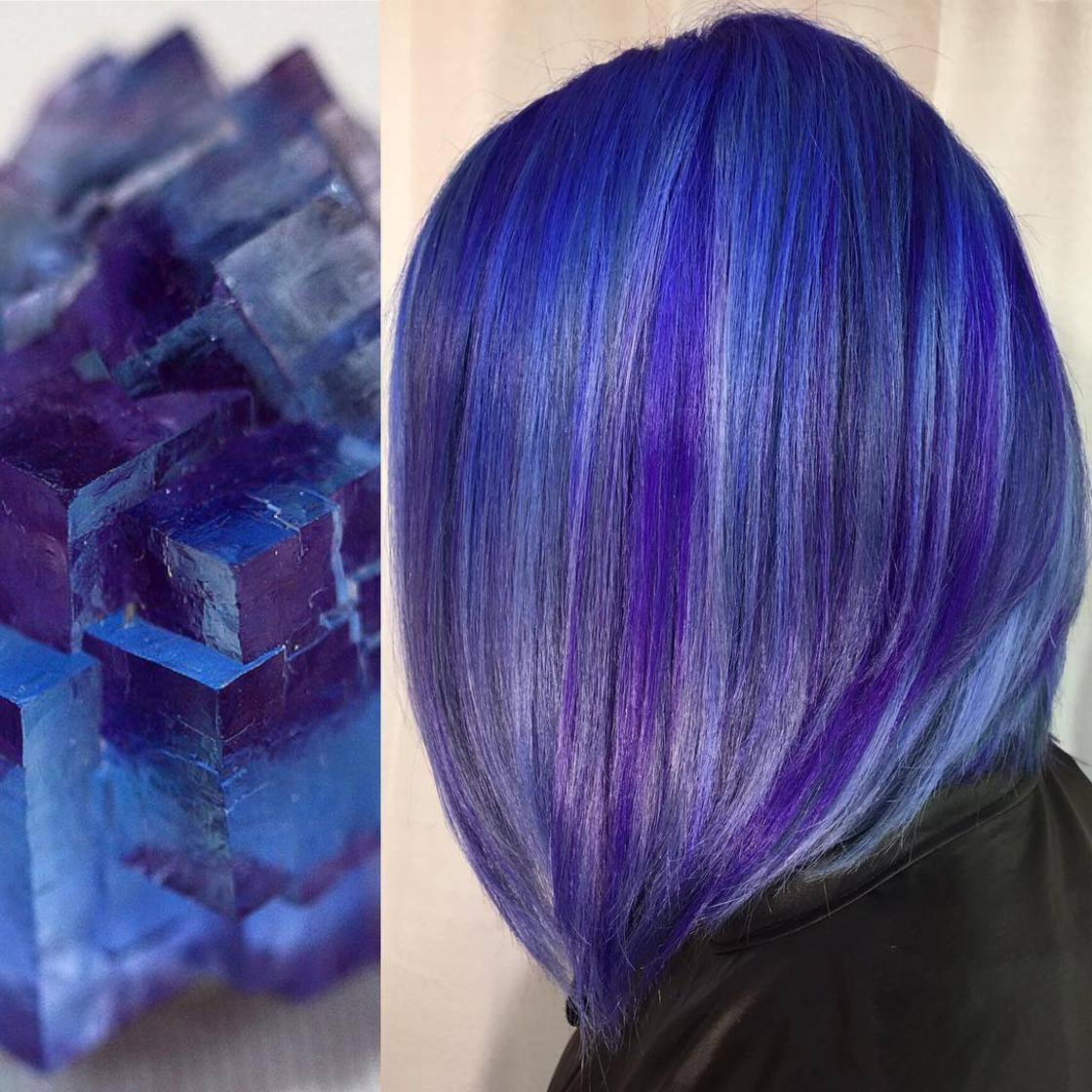 Artista se inspira em imagens fantásticas para mudar a cor do cabelo 3