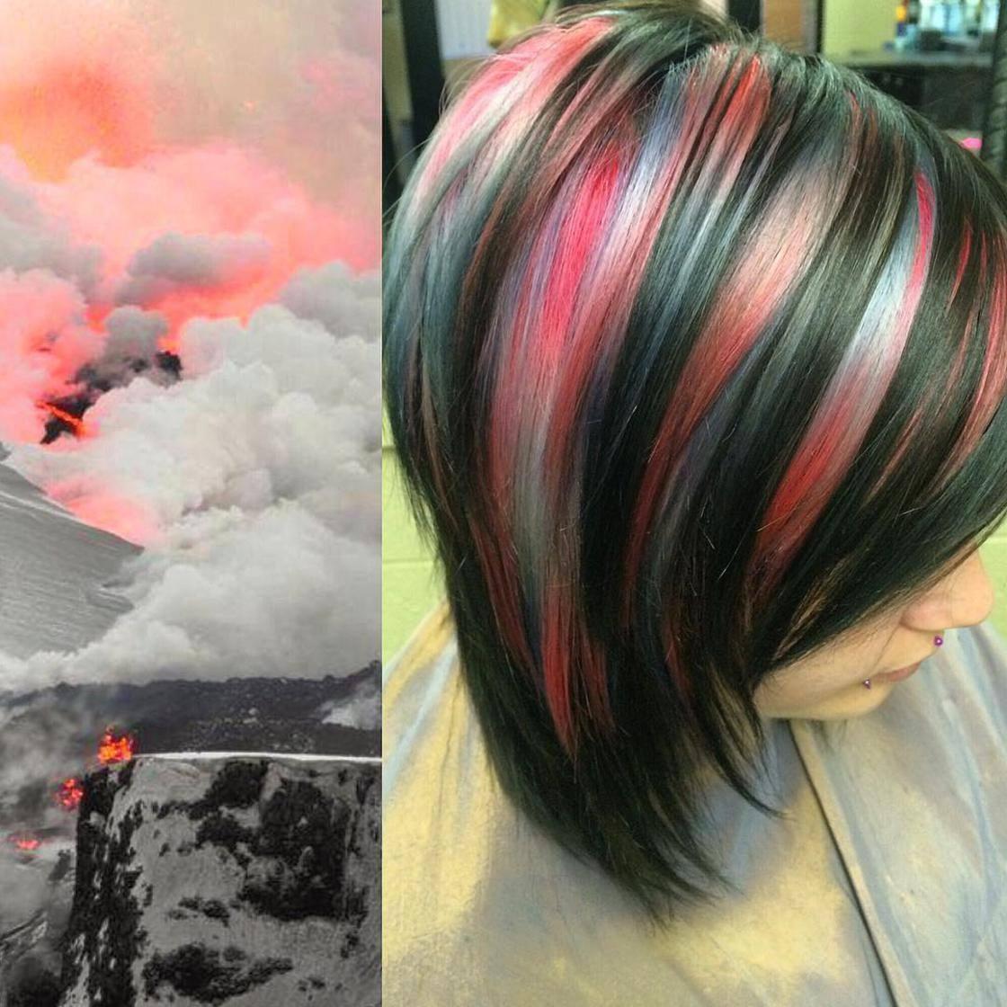 Artista se inspira em imagens fantásticas para mudar a cor do cabelo 4