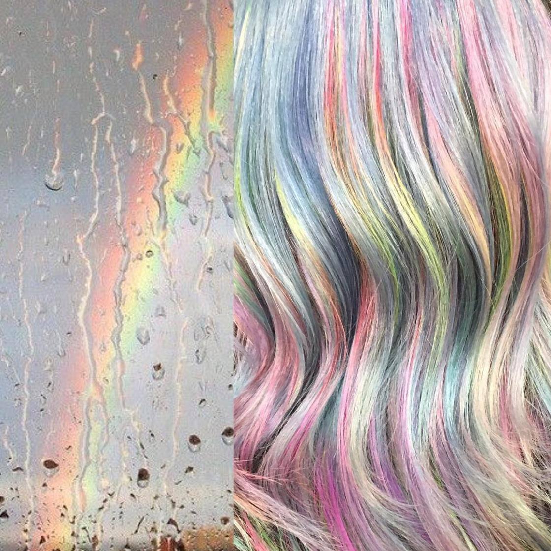Artista se inspira em imagens fantásticas para mudar a cor do cabelo 5
