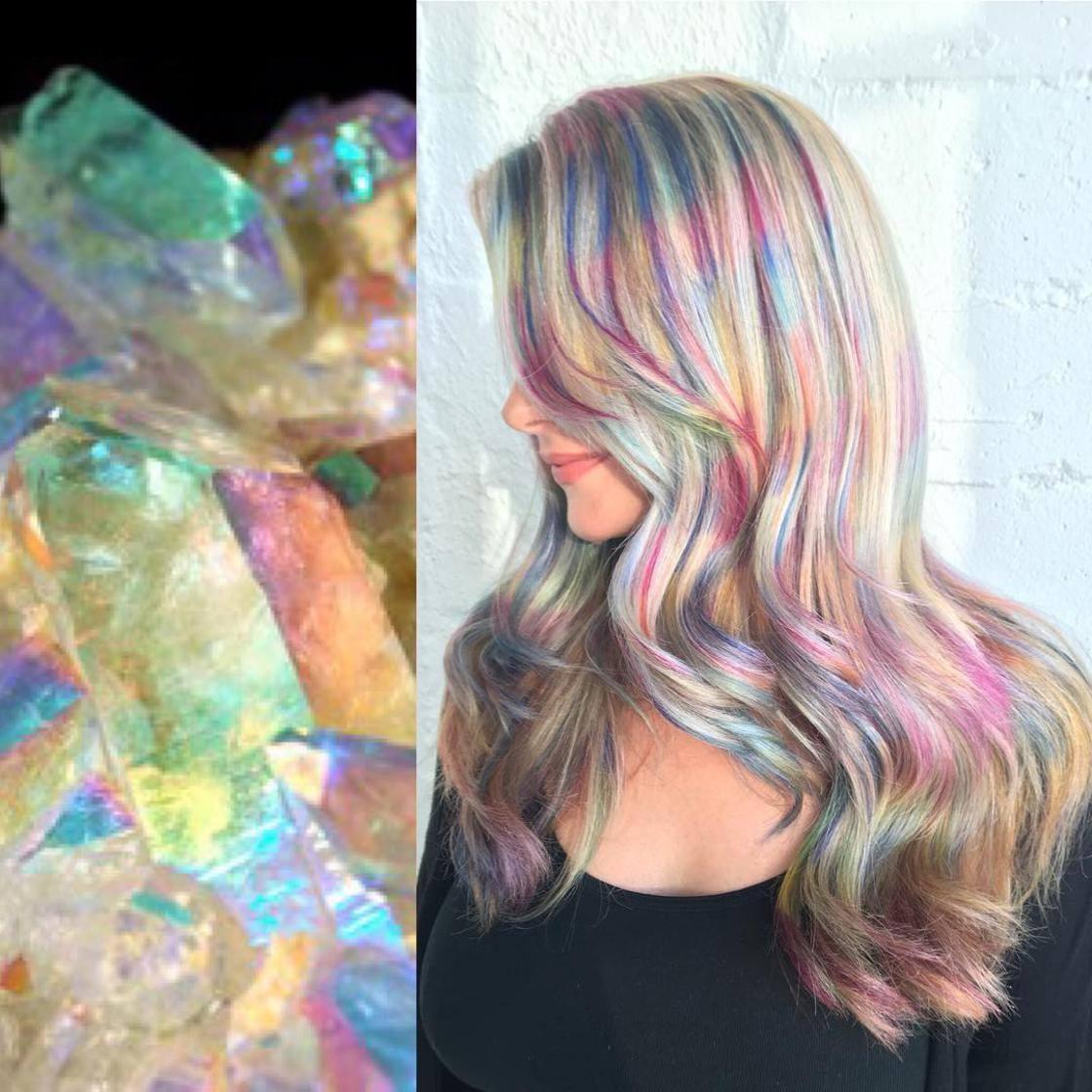 Artista se inspira em imagens fantásticas para mudar a cor do cabelo 6