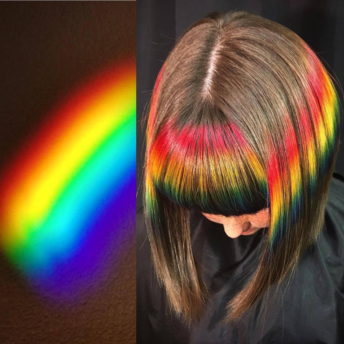 Artista se inspira em imagens fantásticas para mudar a cor do cabelo 11