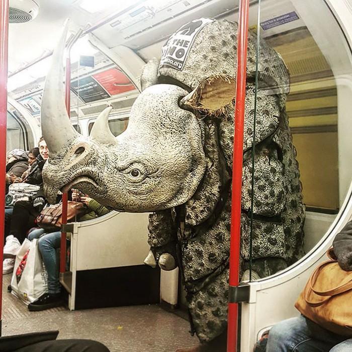 momentos engraçados no metrô (2)