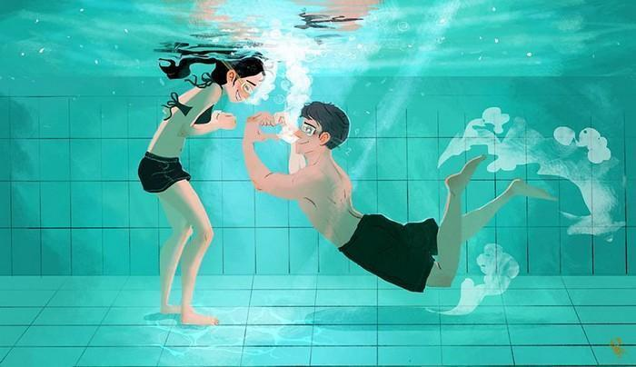 Ilustrações mostram que o amor está nas pequenas coisas (2)
