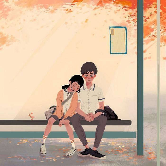Ilustrações mostram que o amor está nas pequenas coisas (1)