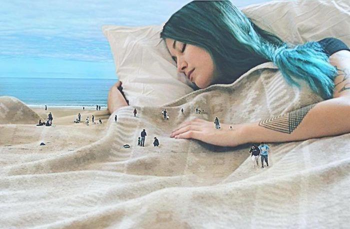 Artista cria ilusão de ótica (11)