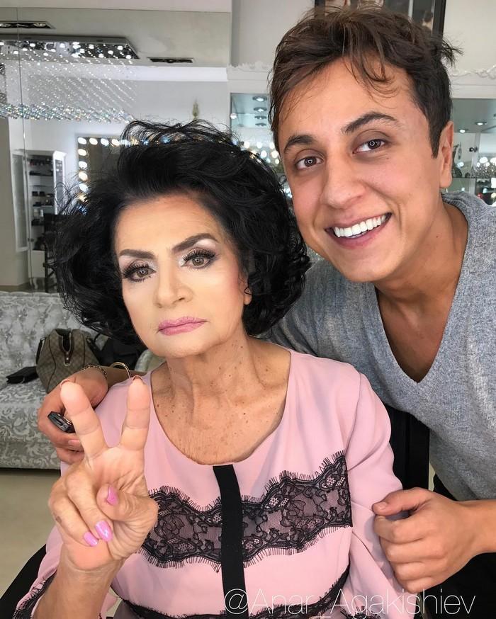 Maquiador mostra o poder da maquiagem em suas clientes idosas (17)