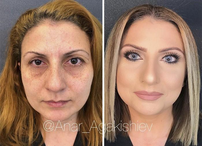Maquiador mostra o poder da maquiagem em suas clientes idosas (5)