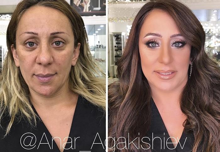 Maquiador mostra o poder da maquiagem em suas clientes idosas (4)
