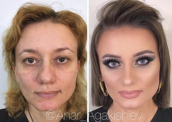 Maquiador mostra o poder da maquiagem em suas clientes idosas (13)