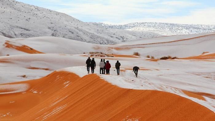 Neve no deserto do Sahara (11)