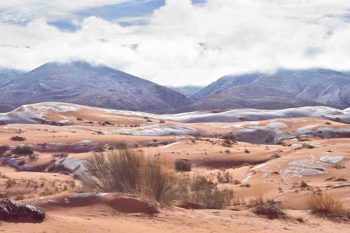 Neve no deserto do Sahara (8)
