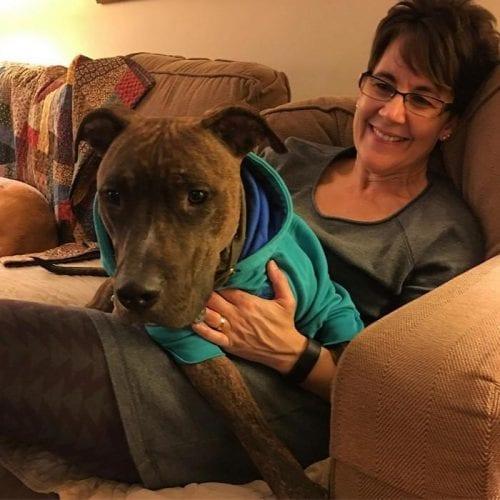 cachorro adotado demonstra amor pela dona todos os dias (6)