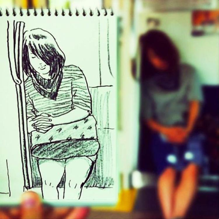 Desenhando cenas da vida cotidiana (3)