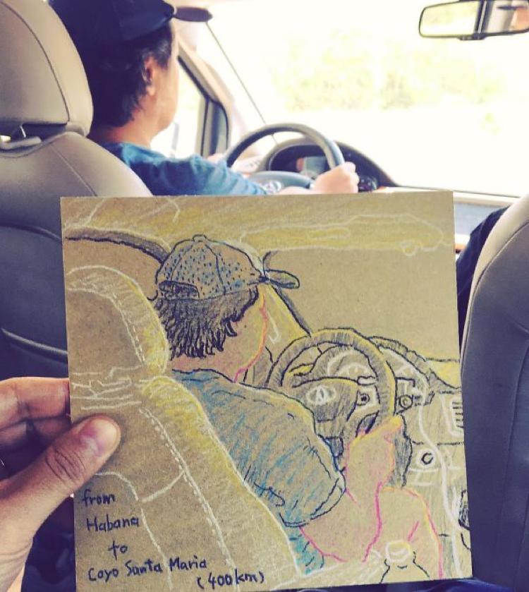Desenhando cenas da vida cotidiana (7)