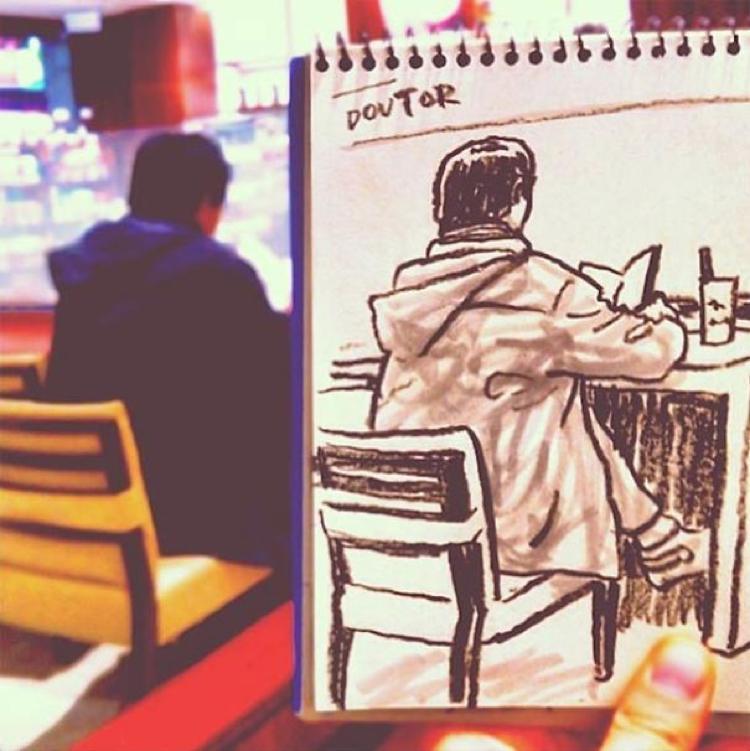Desenhando cenas da vida cotidiana (10)