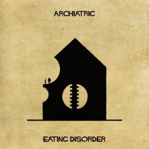 Artista retrata doenças e condições mentais como obras de arquitetura (14)