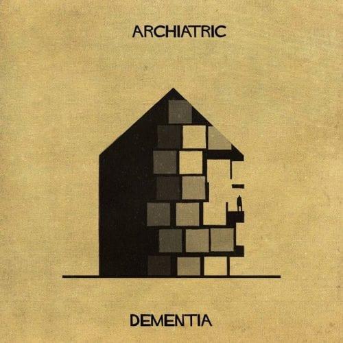 Artista retrata doenças e condições mentais como obras de arquitetura (9)