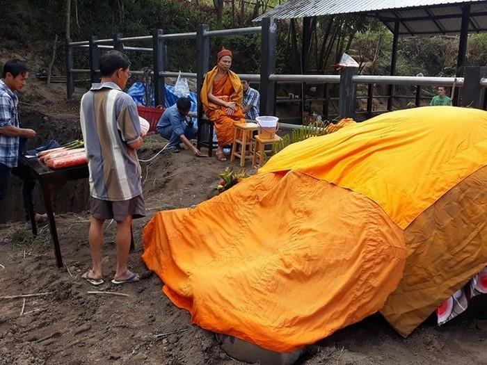 elefante de 60 anos morre na Tailãndia (5)