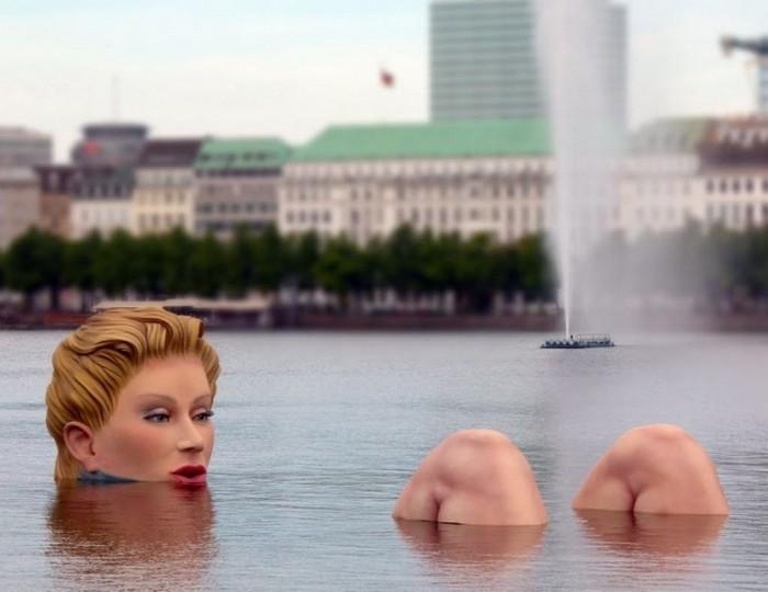 esculturas sob a água (2)