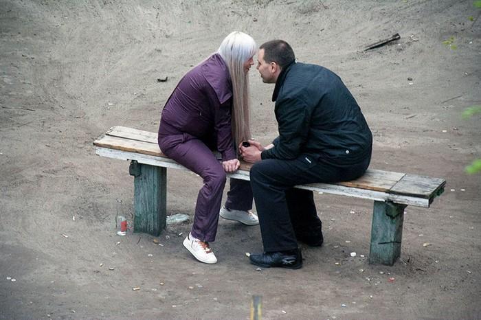 fotógrafo registra o mesmo banco de parque há dez anos (7)