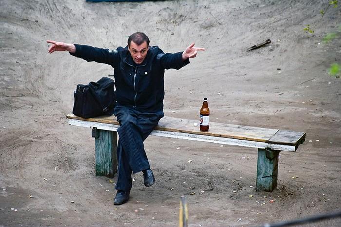 fotógrafo registra o mesmo banco de parque há dez anos (5)
