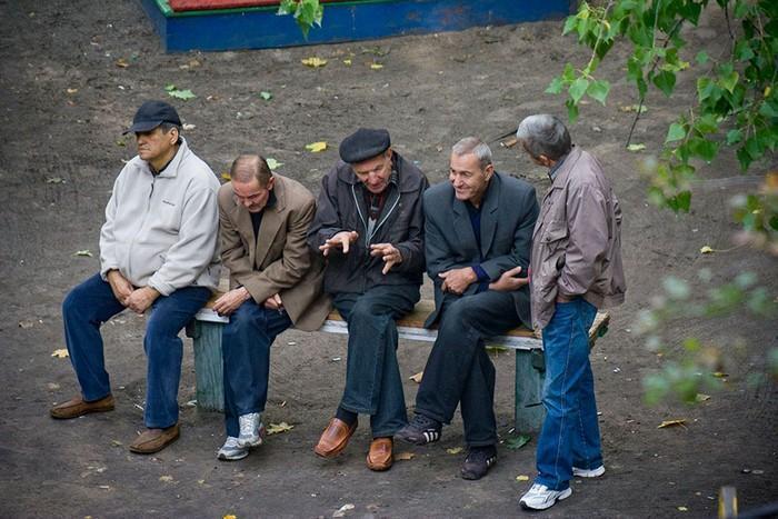 fotógrafo registra o mesmo banco de parque há dez anos (15)