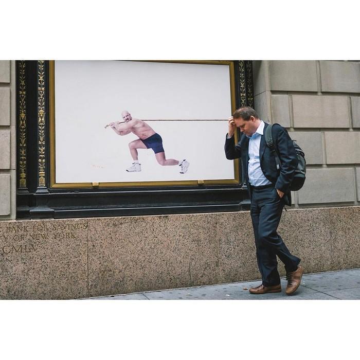 Fotógrafo registra coincidências pelas ruas de Nova Iorque (11)