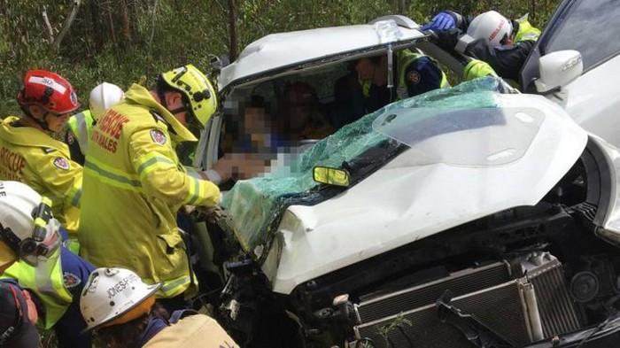 intuição de pai salva a vida de filho que sofreu acidente de carro (2)