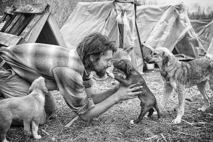 modelo larga tudo para cuidar de animais abandonados (6)