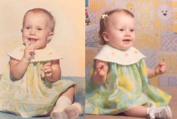Fotografias dos pais e seus filhos na mesma-idade (21)