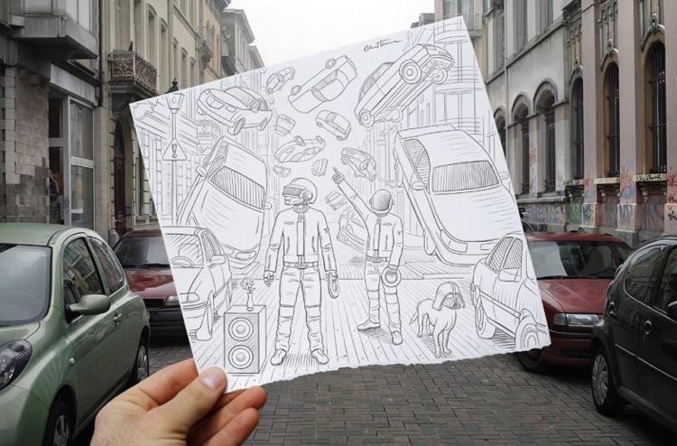 Lápis vs fotografia (2)