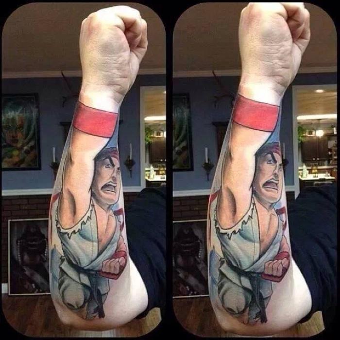 Tatuagens com personagens conhecido (11)