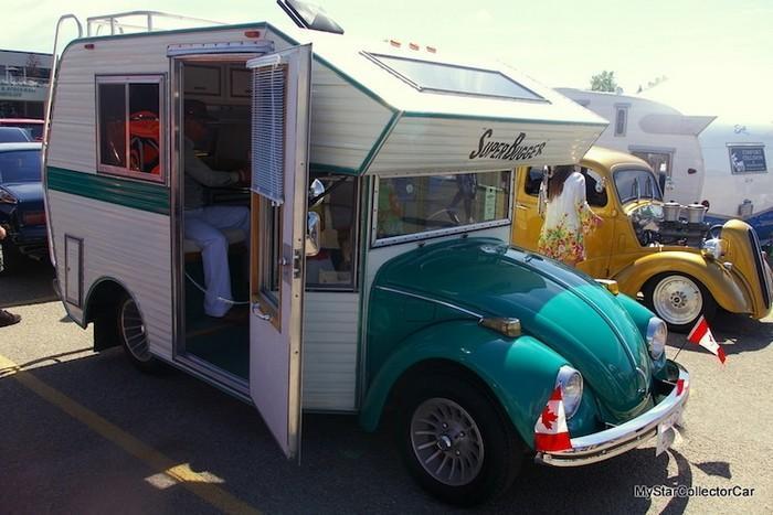 Fuscas convertidos em charmosos trailers de acampamentos (7)
