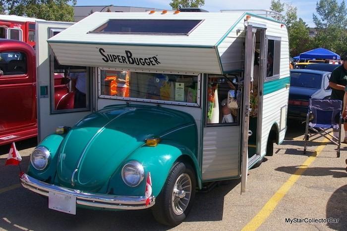 Fuscas convertidos em charmosos trailers de acampamentos (2)