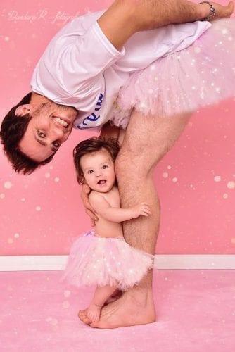 Pai se veste de bailarina (1)