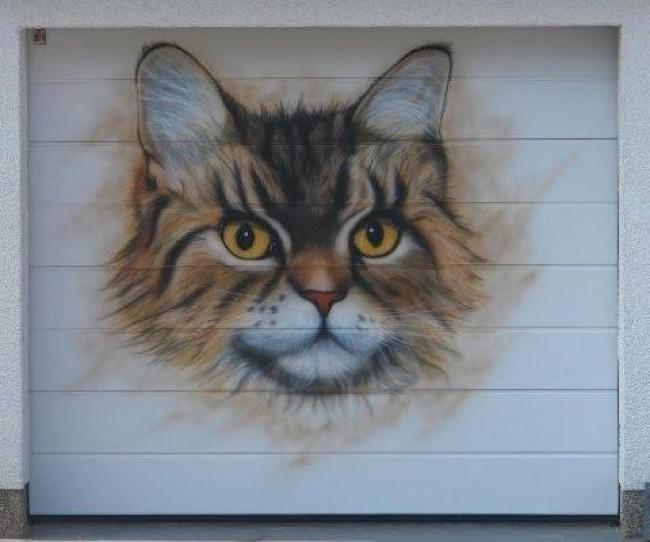 Arte em portão de garagem (3)