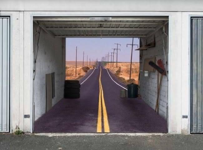 Arte em portão de garagem (5)