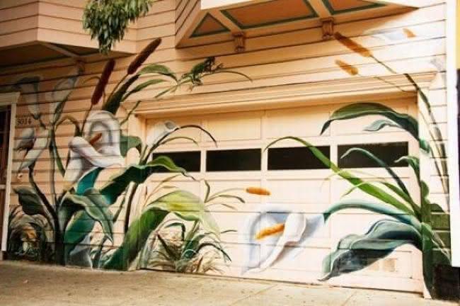 Arte em portão de garagem (8)