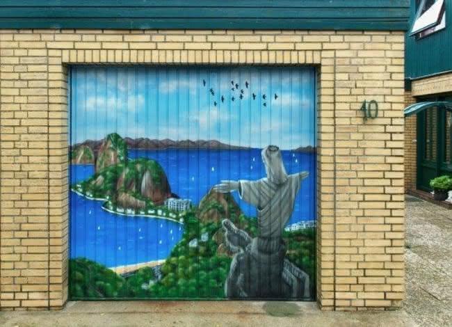 Arte em portão de garagem (10)